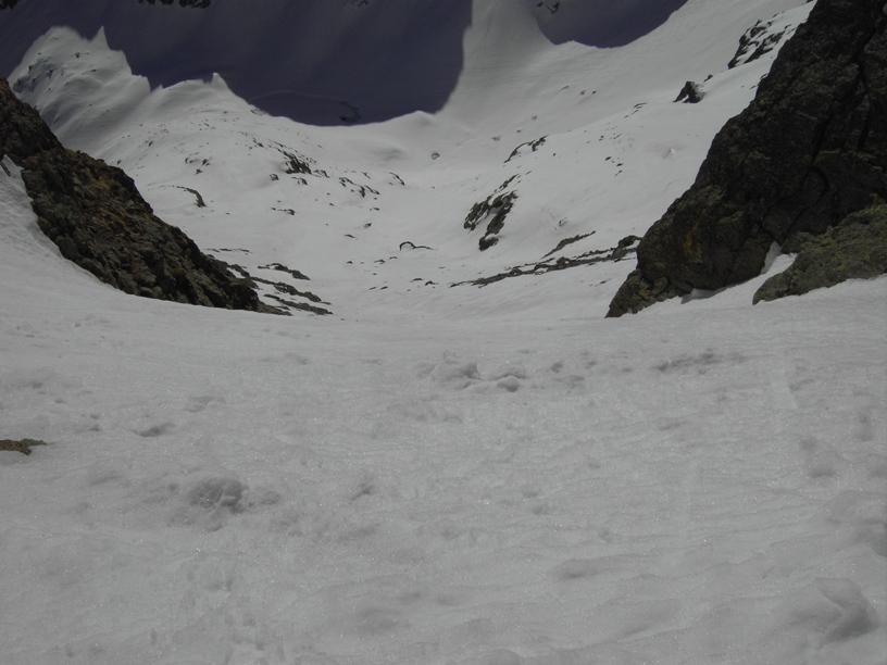 Dal P.Laris verso il lago di mezzo,versante del Migliorero.