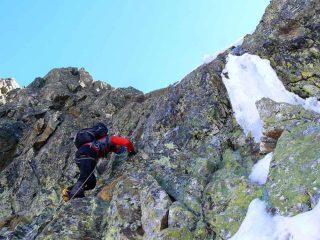 il salto di roccia