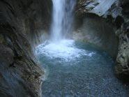 parte bassa della cascata