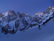 Ecrins by night