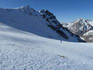 Arriva il sole al colle della Val Fissela