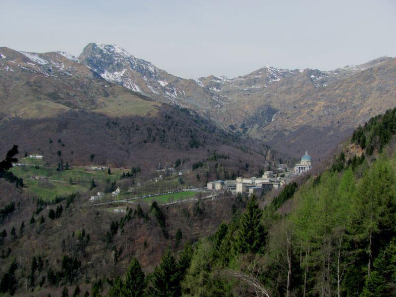 Santuario d'Oropa e Monte Mucrone