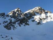 neve sulla cima