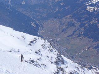 vista sulla Val d'Arc