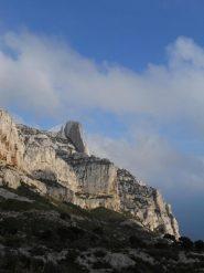 la Grande Candelle vista dal Col de Sugiton