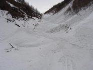 la neve nella parte bassa