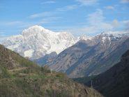 Monte Bianco salendo al Colombo