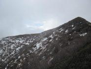 neve sul versante nord del Todano