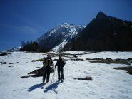 relax e allegria dopo una bella sciata. In 2o piano le condizioni di oggi