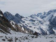 panoramica dal Colle Chiapous...tra poco la nebbia coprirà tutto