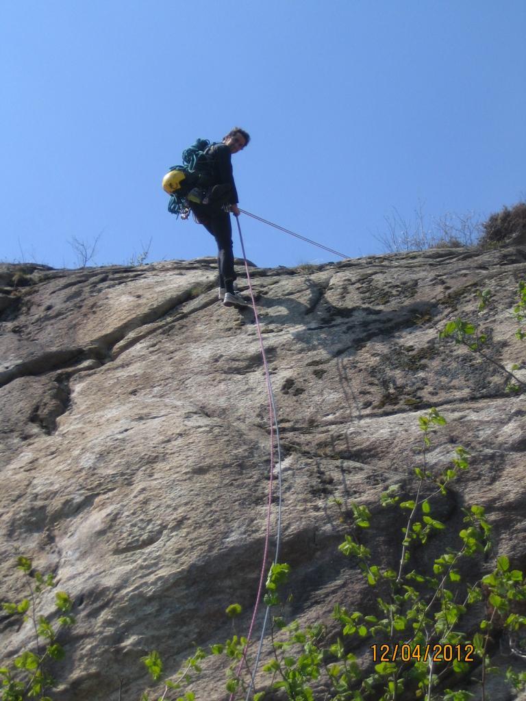 Bracco (Monte) - Torrione del Pissai Sperone Maga Circe - via H2O 2012-04-12