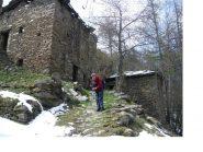 In discesa alle Alpi Seletta nel Vallone Garnier...