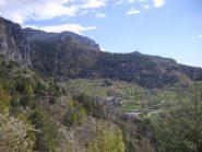 Camoglieres vista dal sentiero Ciclamini