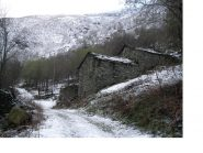 La neve c'e',ma solo a partire da Bonavalle di Qua'...