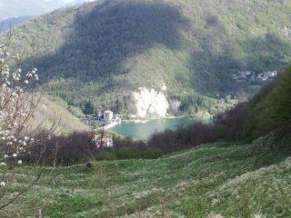 La diga di Val di Noci dalla Gola di Sisa