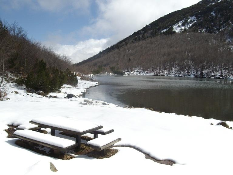 Bue (Monte) e Monte Maggiorascaanello da Rocca d'Aveto per il Lago Nero 2012-04-21
