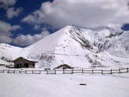 l'itinerario, dal campeggino di Pian dell'alpe