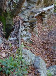 antica condotta dell'acqua nei pressi di s-cialva