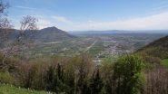 fondovalle e verso le colline di Superga dalla Sacra