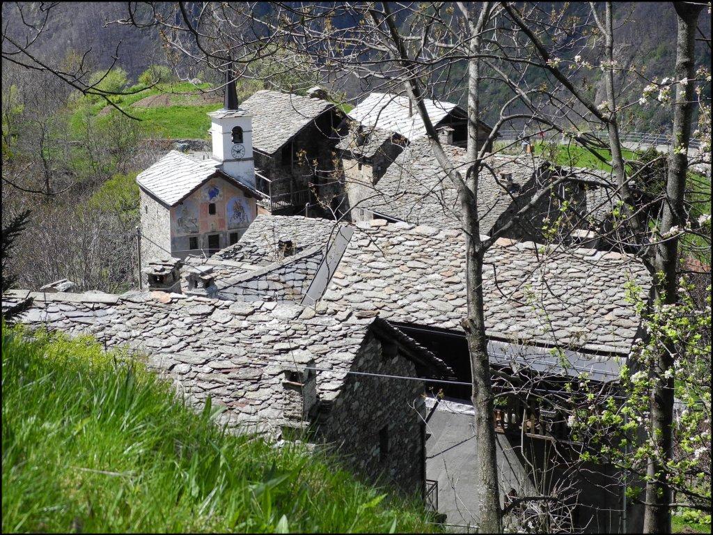 Coumarial (Pian) da Fontainemore, anello delle borgate 2012-04-22