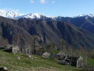 Sopra Palocco nuovo verso cime della Val di Ribordone