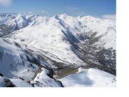 Il Col di Larche dal Bec du Lievre...