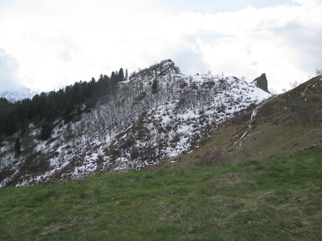 Alantur (Punta dell') da Gabadone, anello per Prascondù, Colle Vardlà e Passo di Betassa 2012-04-25