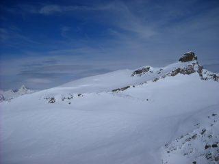 La Rocca Bianca dalla cima
