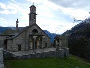 la chiesa di Trasquera