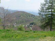 Monte Calmia , visto da Musrai