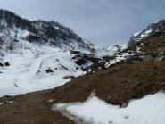 Le ns. ultime curve nel vall. della Brignola