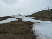 Lingue di neve sulle piste di Artesina
