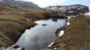 il laghetto presente nel pianoro della Grand Croix (28-4-2012)