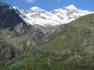 Zoom su Alpe Loetto con Rama e Pal sullo sfondo