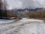 dove inizia la neve