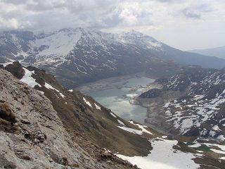 vista sul lago del moncenisio