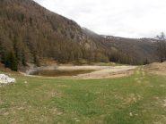 03 - lago di Croux lungo il percorso dal Col Pilaz verso la Magdeleine