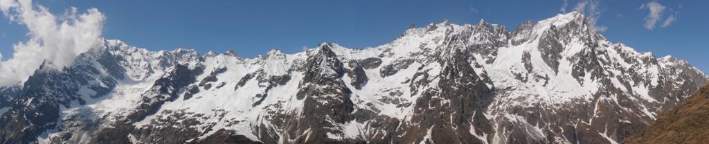 01 - panoramica dal M.Bianco alle Grandes Jorasses