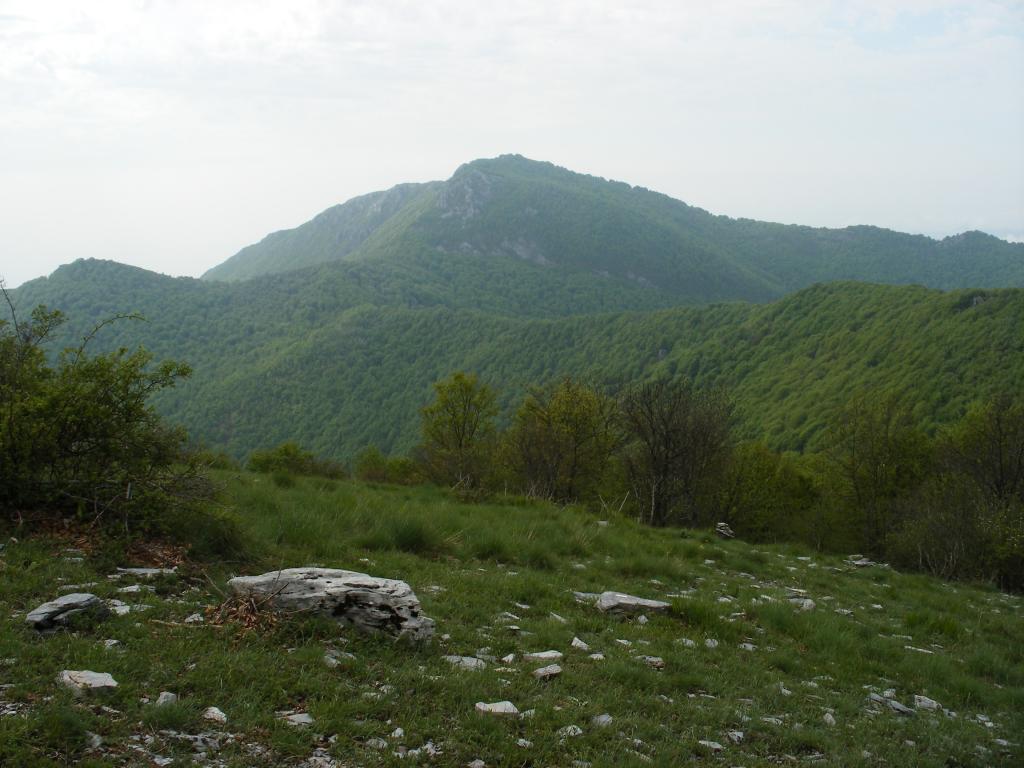Carmo del Finale (Monte) o di Loano e Bric dell'Agnellino da Castagnabanca, anello 2012-05-13
