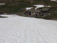 Neve dagli chalets de Trieves
