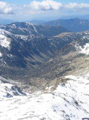 Vista sul Rifugio Cougourde