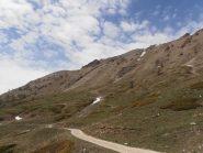 04 - lungo il falsopiano in direzione del Forte di Foens, sopra lo Jafferau