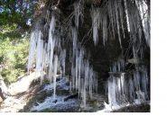 Grotta stalattitica...di ghiaccio