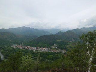 Panorama verso Germagnano