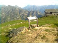 Alpe Pizzo: Panorama verso l'alta Val Sesia