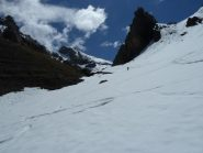Ultimi metri con gli sci