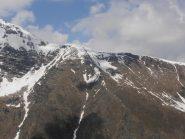 12 - innevamento al passo Clopacà... particolari le cornici di neve in direzione Ovest