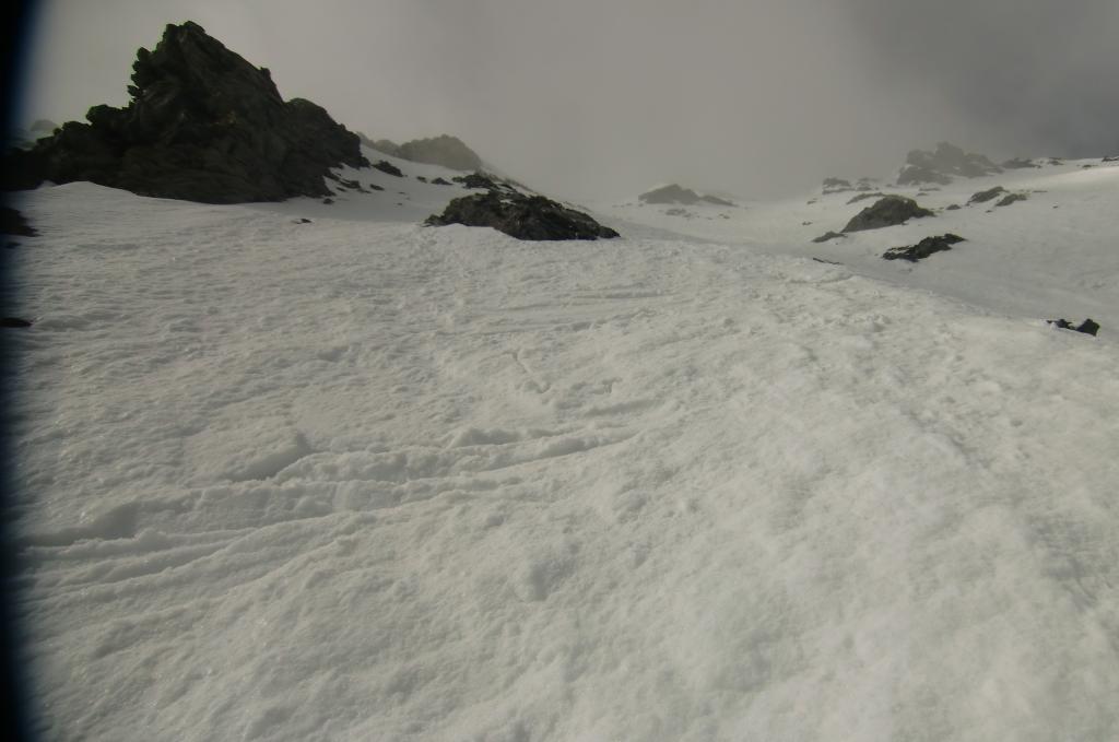 qualità neve sul pendio