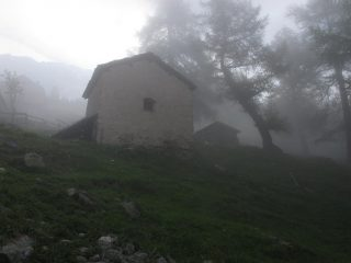 Alpe Moulaz nella nebbia