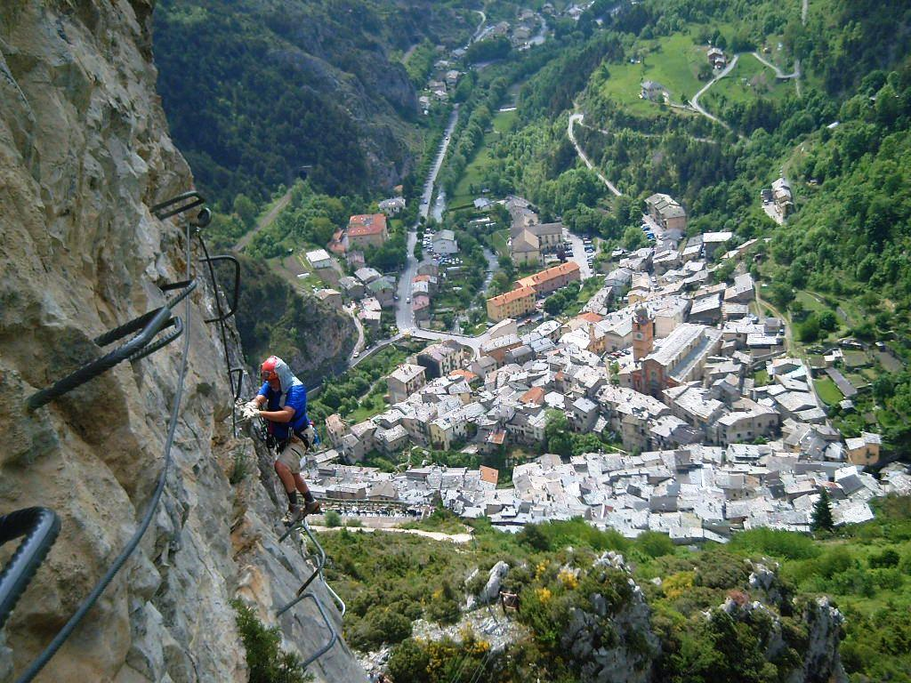 Comtes Lascaris (Via Ferrata des) - Tende 2012-05-27